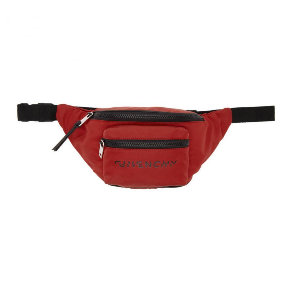 ジバンシー Givenchy メンズ ボディバッグ・ウエストポーチ バッグ【Red Logo Bum Bag】Red