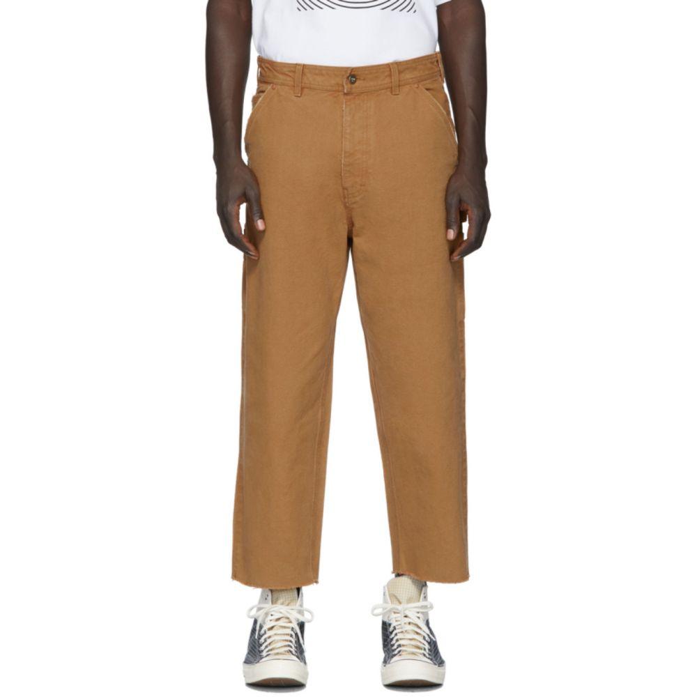 ヴァイナー アーティクルズ Vyner Articles メンズ ジーンズ・デニム ボトムス・パンツ【Tan Canvas Hammer Jeans】Brown