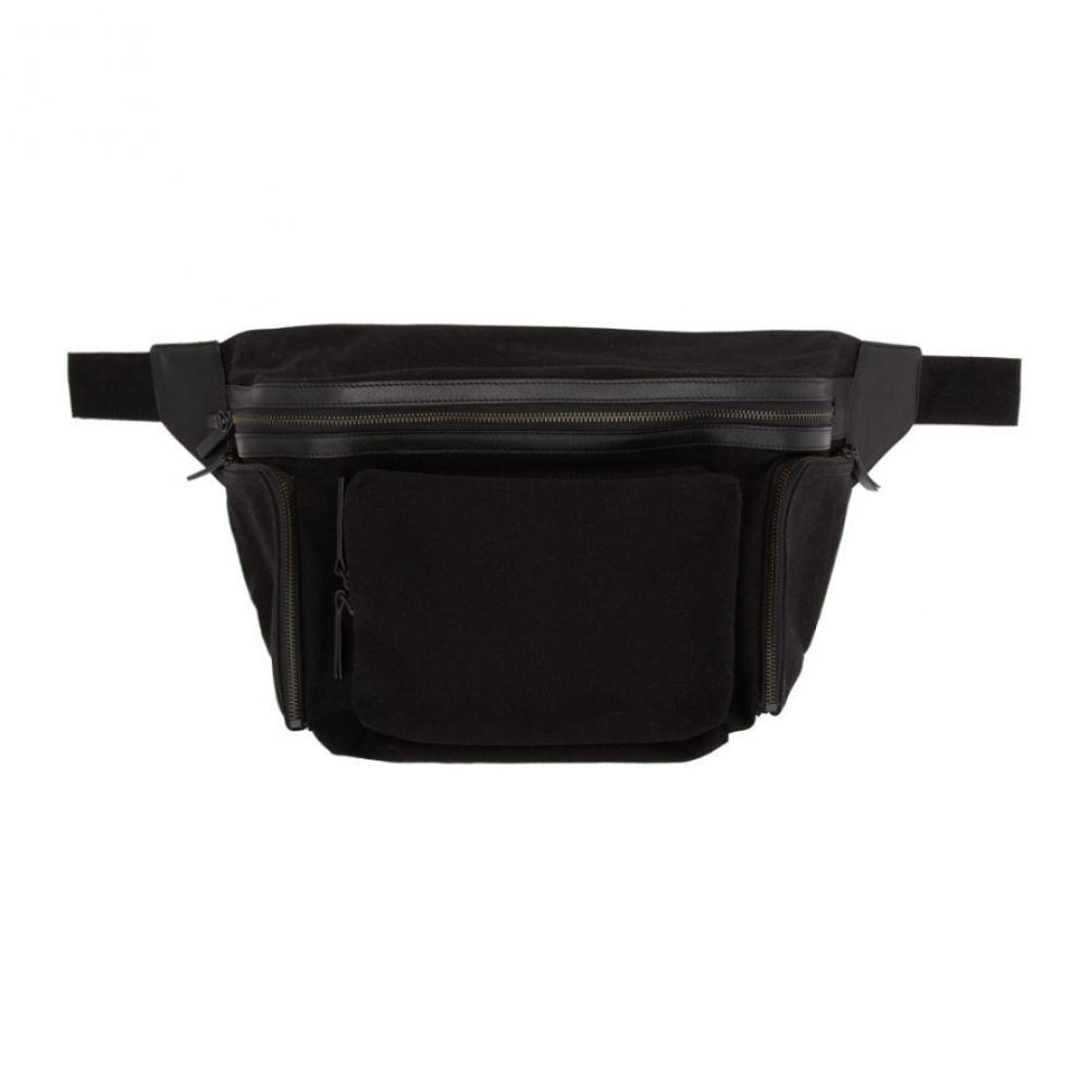 ドリス ヴァン ノッテン Dries Van Noten メンズ メッセンジャーバッグ バッグ【Black Cover Messenger Bag】Black
