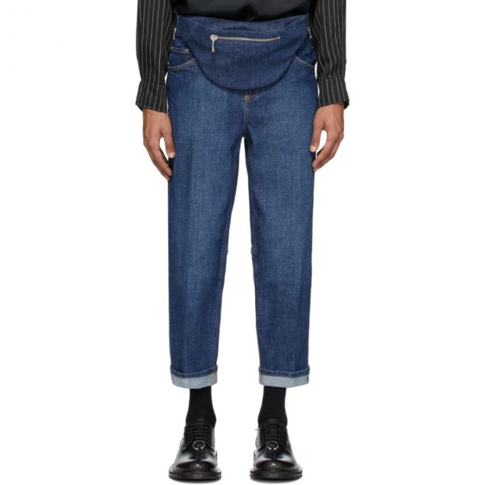 ニール バレット Neil Barrett メンズ ジーンズ・デニム ボトムス・パンツ【Indigo Vintage Wide Jeans】Pale indigo