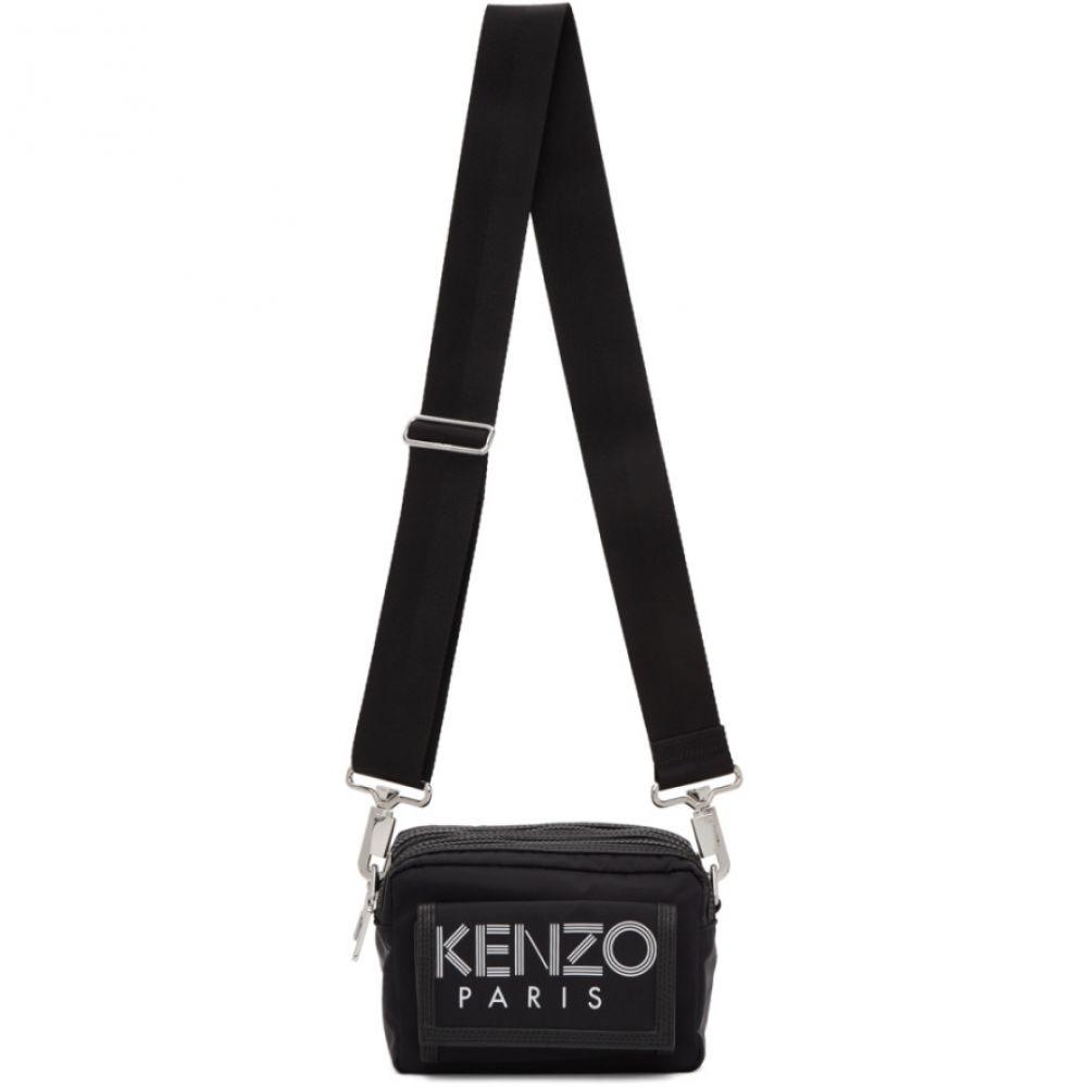 ケンゾー Kenzo メンズ メッセンジャーバッグ バッグ【Black Sport Logo Messenger Bag】Black