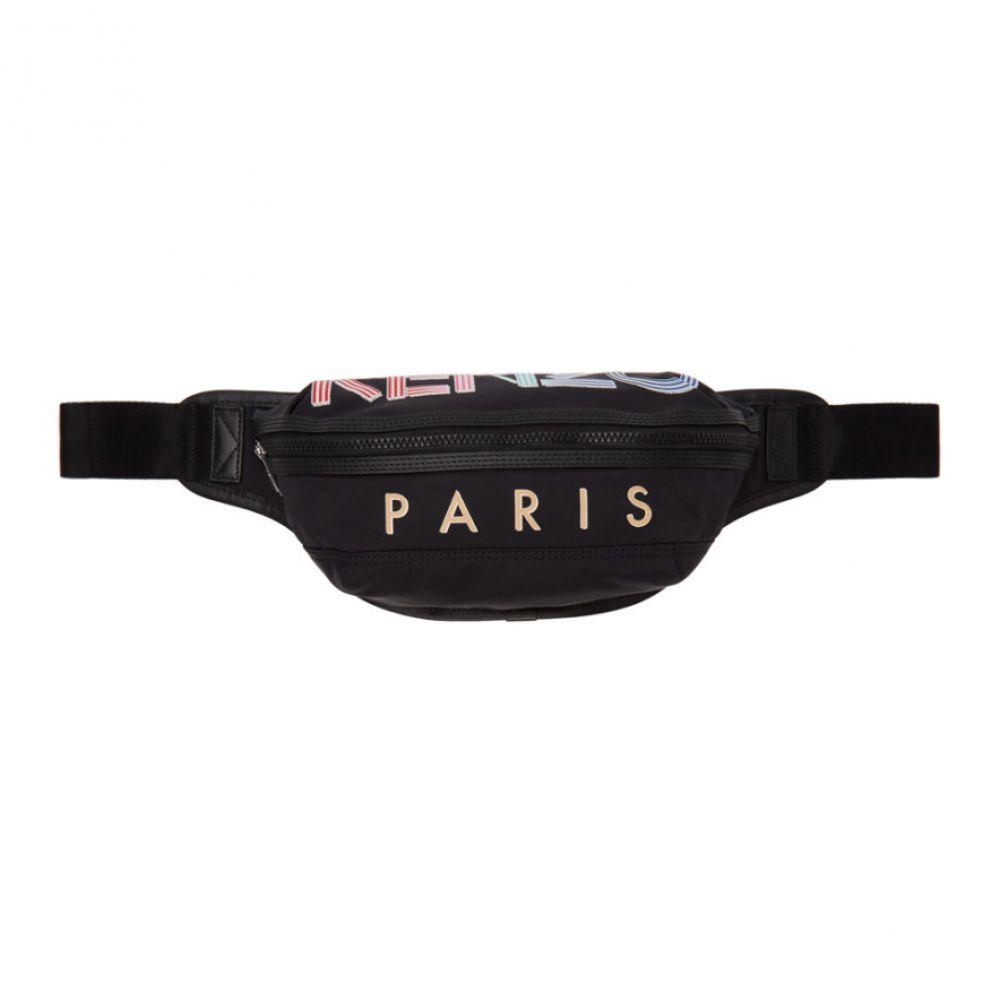 ケンゾー Kenzo メンズ ボディバッグ・ウエストポーチ バッグ【Black Sport Logo Bum Bag】Black