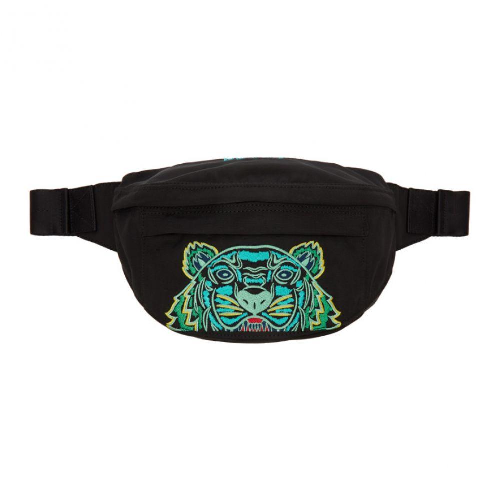 ケンゾー Kenzo メンズ ボディバッグ・ウエストポーチ バッグ【Black Mini Kampus Tiger Bum Bag】Black