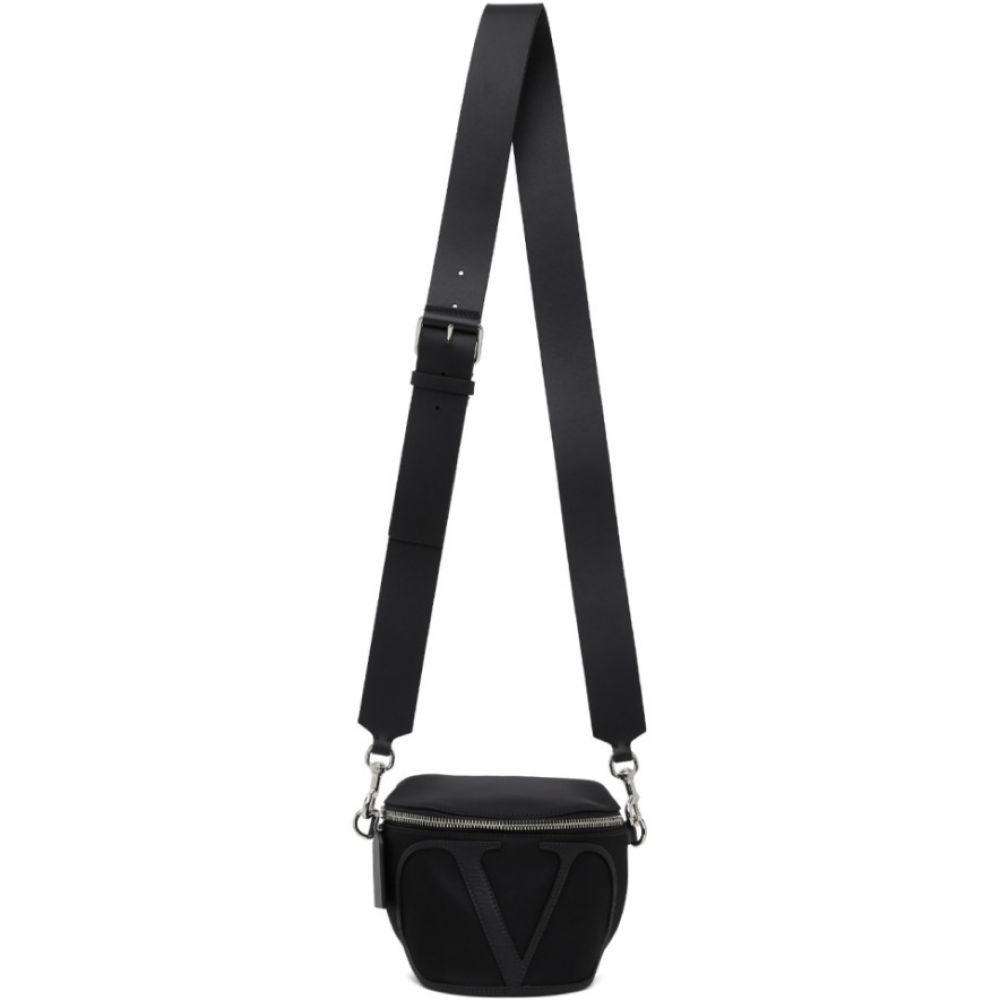 ヴァレンティノ Valentino メンズ ボディバッグ・ウエストポーチ バッグ【Black Vantino Garavani VLogo Belt Bag】Black