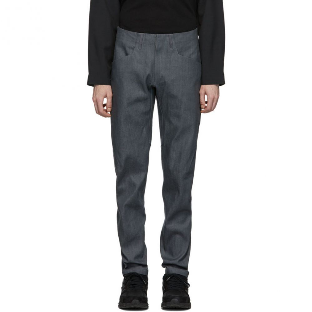 ヴェイランス Veilance メンズ ジーンズ・デニム ボトムス・パンツ【Grey Cambre Jeans】Stone