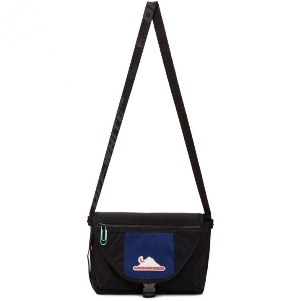 オフホワイト Off-White メンズ メッセンジャーバッグ バッグ【Black Equipment Messenger Bag】Black