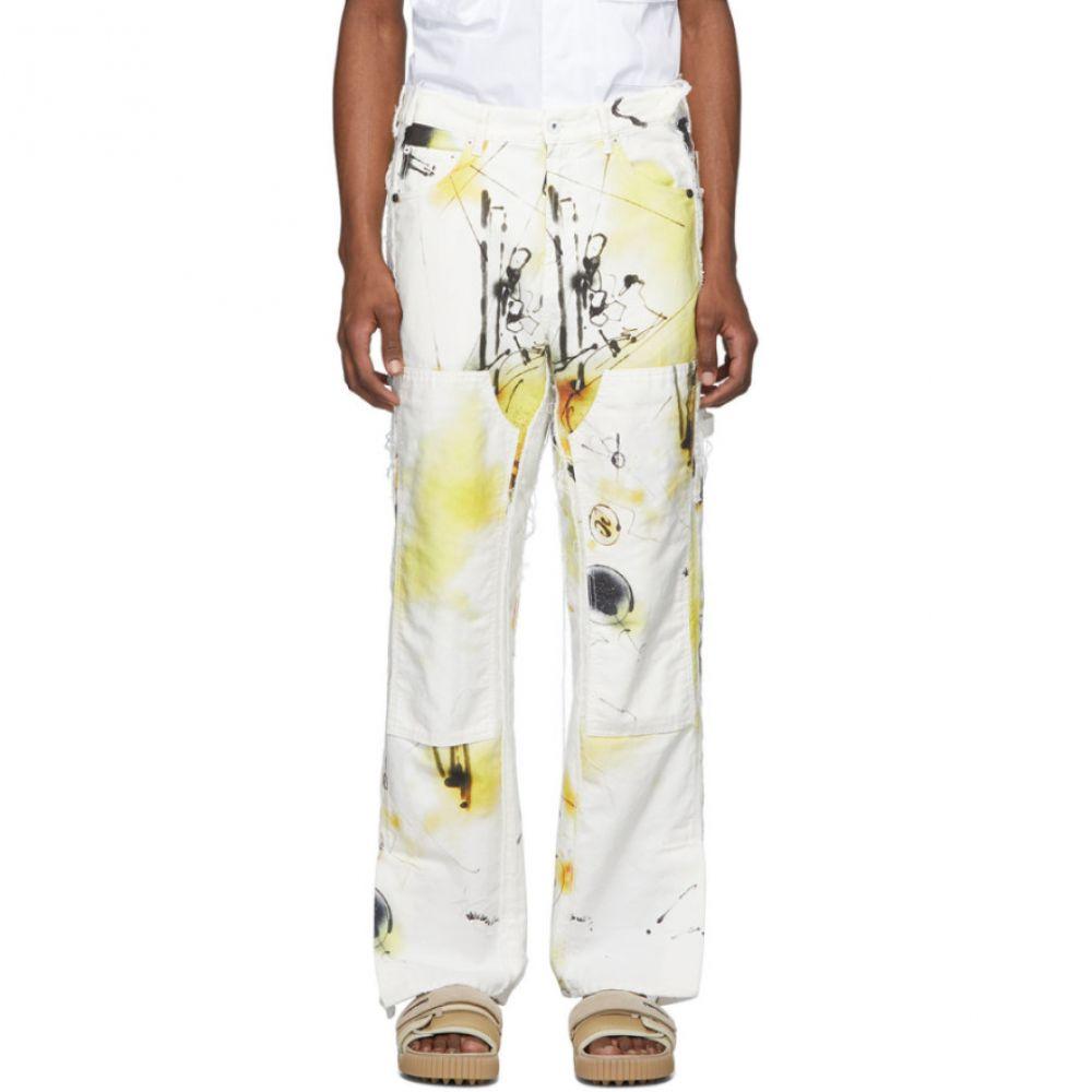 オフホワイト Off-White メンズ ジーンズ・デニム ボトムス・パンツ【Multicolor Futura Edition Abstract Carpenter Jeans】Multicolor