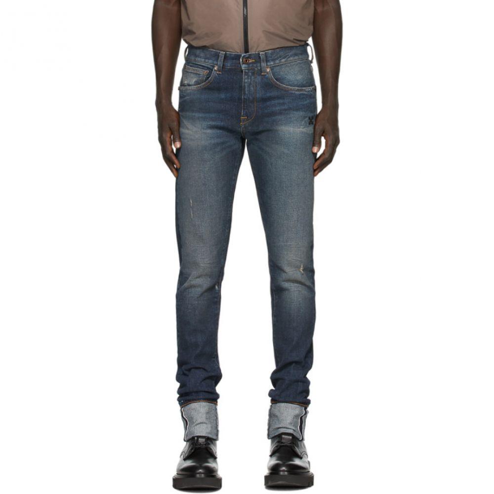 オフホワイト Off-White メンズ ジーンズ・デニム ボトムス・パンツ【Indigo Selvedge Denim Jeans】Indigo