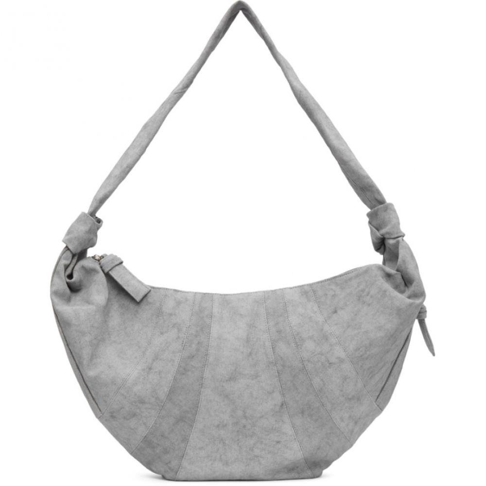 ルメール Lemaire メンズ ボディバッグ・ウエストポーチ バッグ【Grey Maxi Bum Bag】Ash