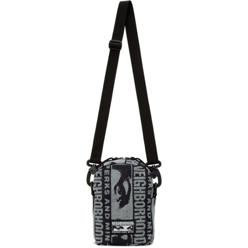 パークスアンドミニ Perks and Mini メンズ メッセンジャーバッグ バッグ【Navy Neighborhood Edition Messenger Bag】Indigo
