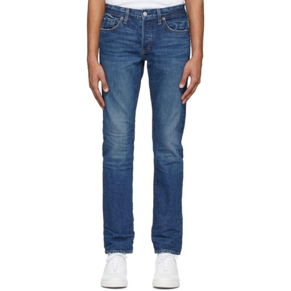 リダン Re/Done メンズ ジーンズ・デニム ボトムス・パンツ【Blue Slim Fit Jeans】Med