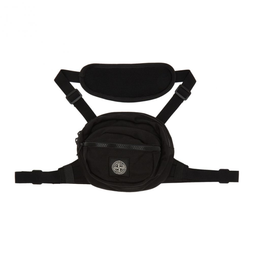 ストーンアイランド Stone Island メンズ メッセンジャーバッグ バッグ【Black Harness Bag】Black