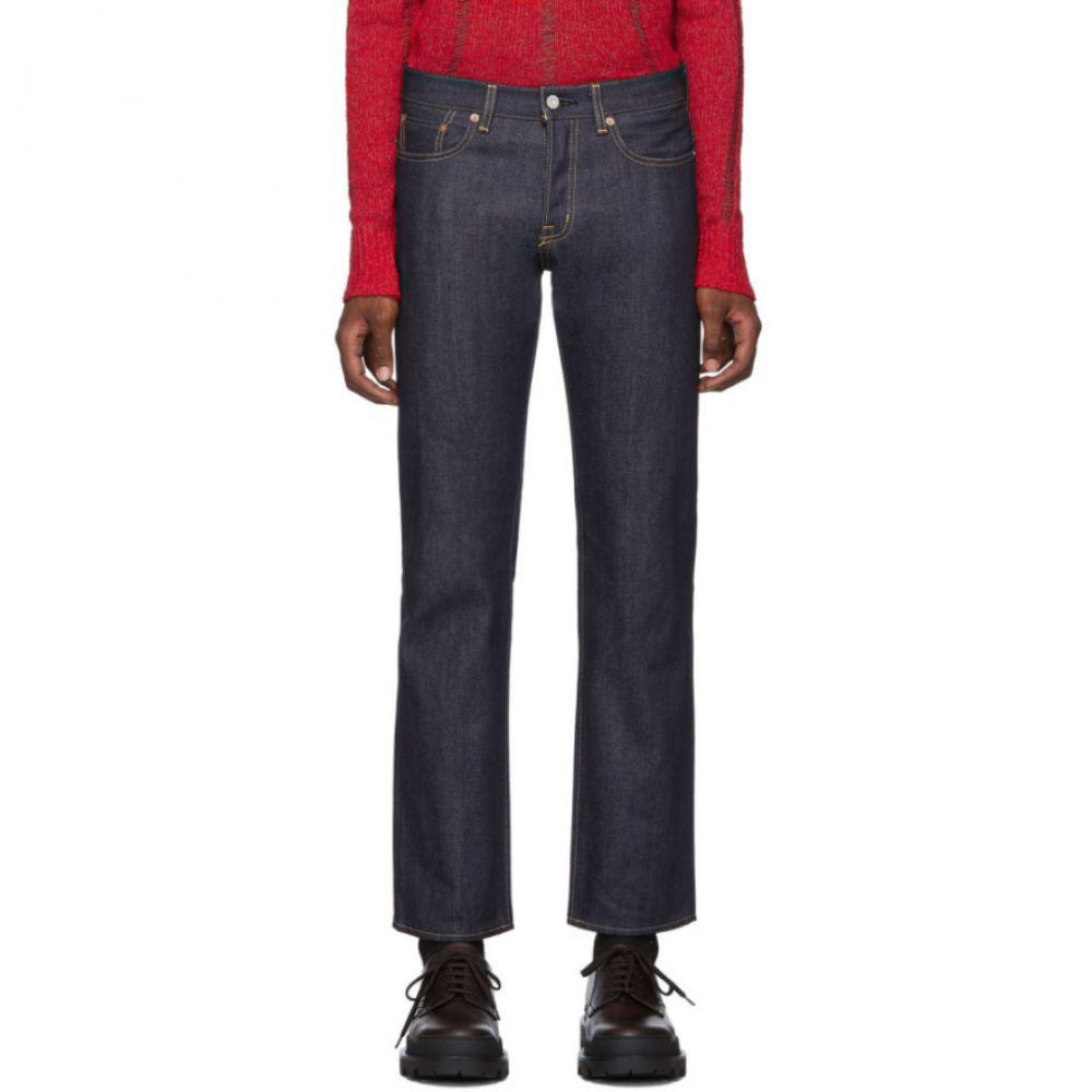 マウジー Moussy Vintage メンズ ジーンズ・デニム ボトムス・パンツ【Navy Milford Straight Jeans】