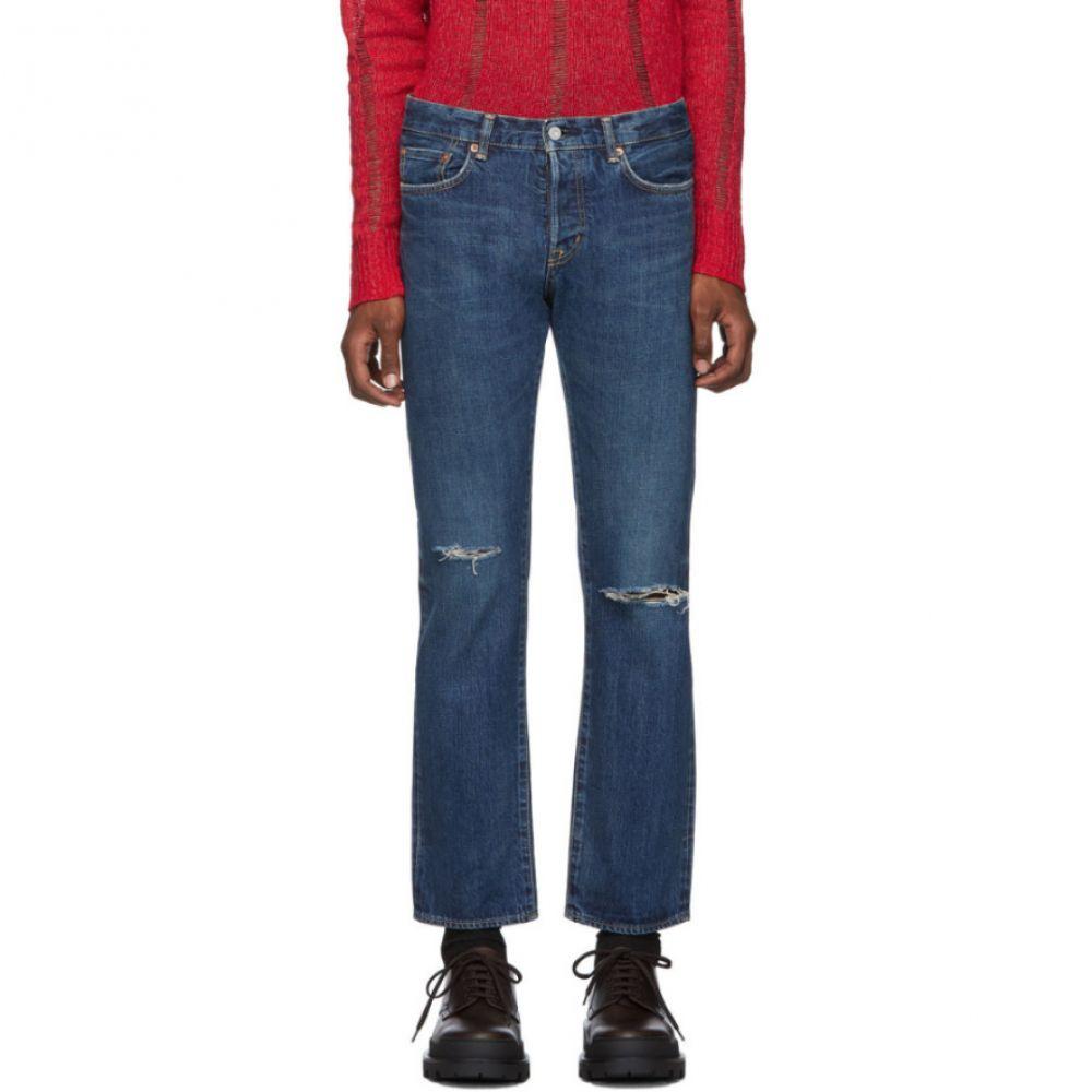 マウジー Moussy Vintage メンズ ジーンズ・デニム ボトムス・パンツ【Blue Limeport Straight Jeans】Blue