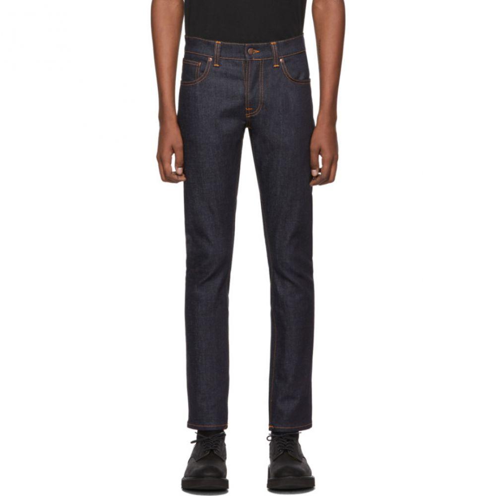 ヌーディージーンズ Nudie Jeans メンズ ジーンズ・デニム ボトムス・パンツ【Navy Tim Dry Jeans】Dry true navy