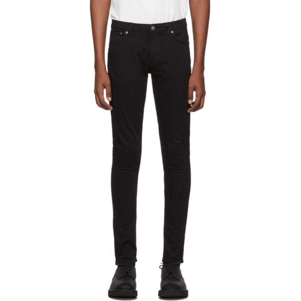 ヌーディージーンズ Nudie Jeans メンズ ジーンズ・デニム ボトムス・パンツ【Black Skinny Lin Jeans】Black black