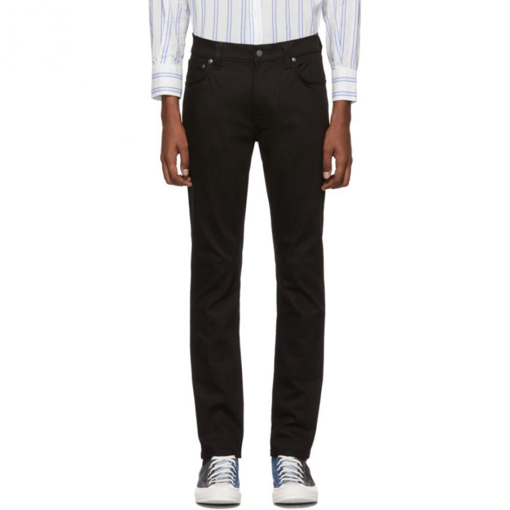 ヌーディージーンズ Nudie Jeans メンズ ジーンズ・デニム ボトムス・パンツ【Black Thin Finn Dry Jeans】Cold black