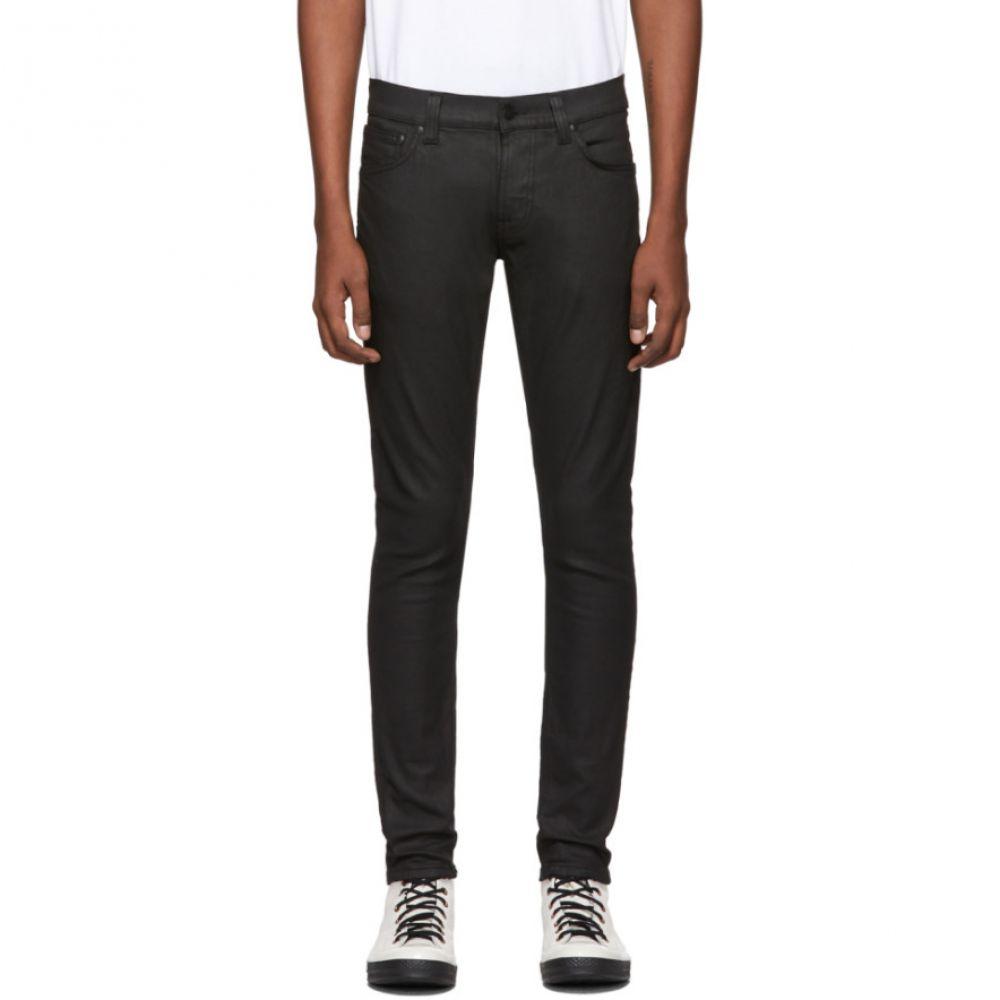 ヌーディージーンズ Nudie Jeans メンズ ジーンズ・デニム ボトムス・パンツ【Black Painted Tight Terry Jeans】Painted black