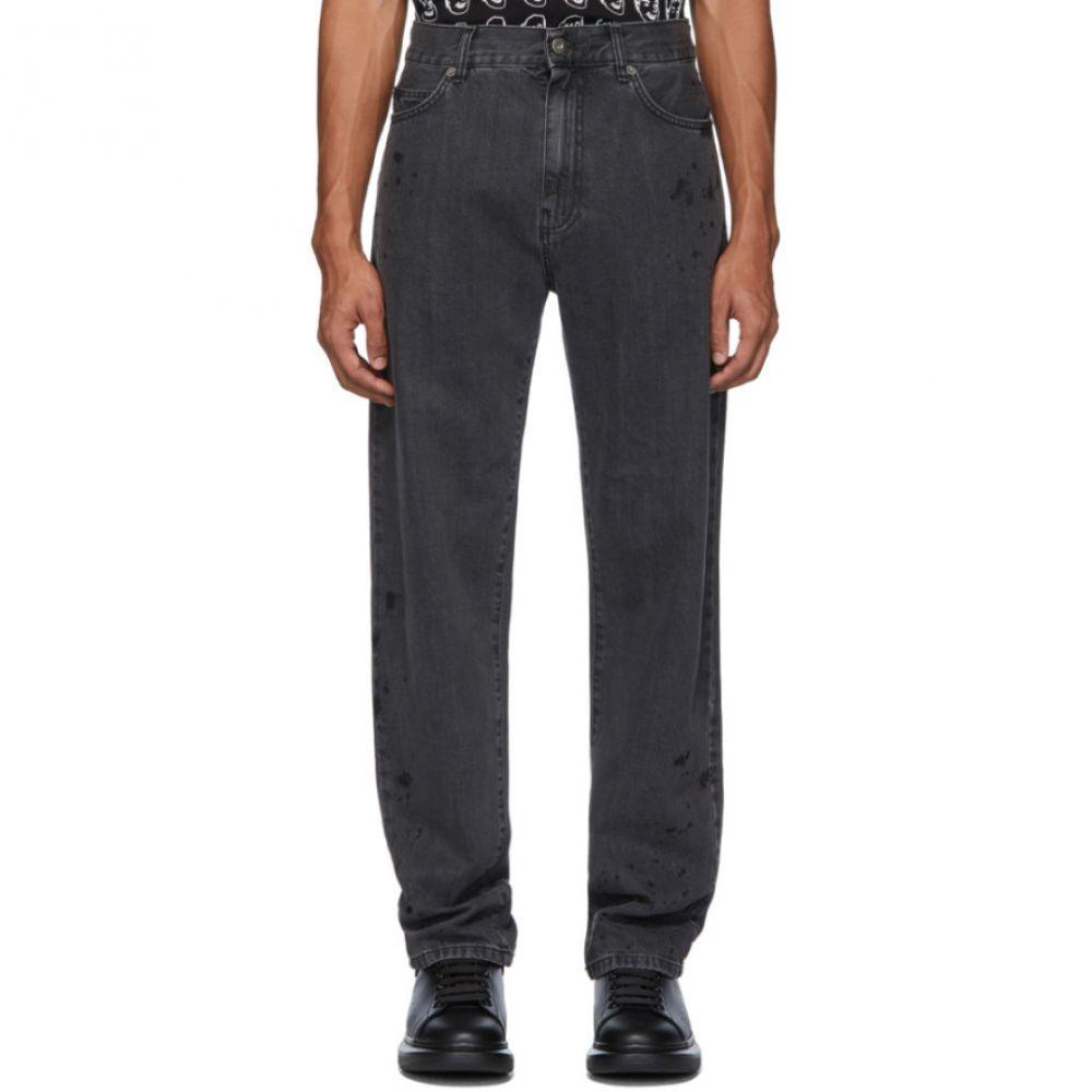 アレキサンダー マックイーン McQ Alexander McQueen メンズ ジーンズ・デニム ボトムス・パンツ【Black Reggie Jeans】Black
