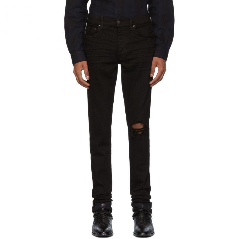 アミリ Amiri メンズ ジーンズ・デニム ボトムス・パンツ【Black Broken Jeans】Black