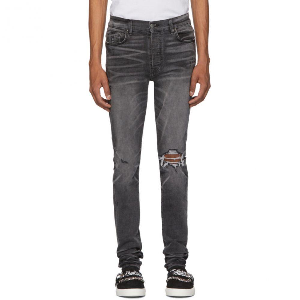 アミリ Amiri メンズ ジーンズ・デニム ボトムス・パンツ【Grey Broken Jeans】Faded grey