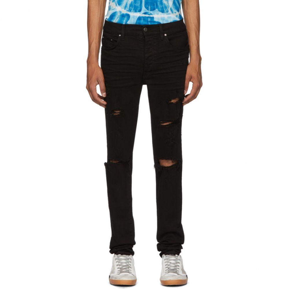 アミリ Amiri メンズ ジーンズ・デニム ボトムス・パンツ【Black Thrasher Plus Jeans】Black