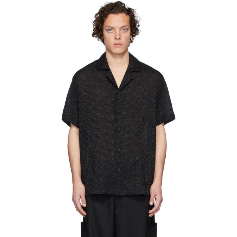 グッドファイト Goodfight メンズ 半袖シャツ トップス【Black Bozo Short Sleeve Shirt】Black