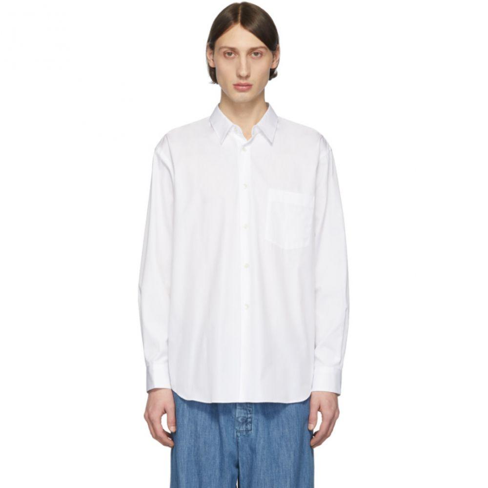 コム デ ギャルソン Comme des Garcons Shirt メンズ シャツ トップス【White Poplin Shirt】White