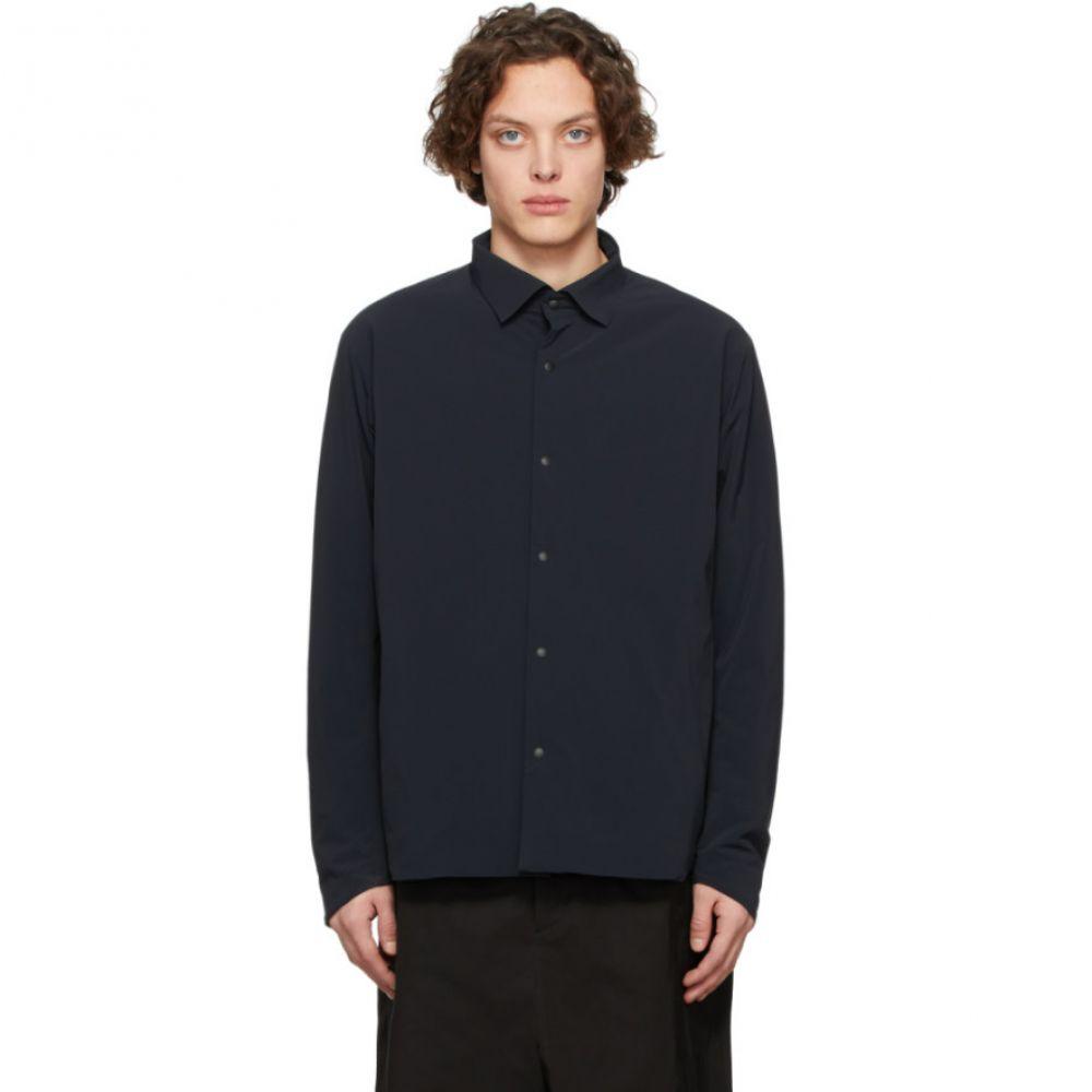 デサント オルテライン Descente Allterrain メンズ シャツ トップス【Black Titanium Thermo Insulated Shirt】Black