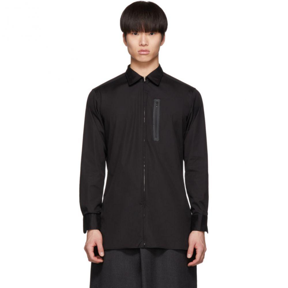 ランダム アイデンティティーズ Random Identities メンズ シャツ トップス【Black Zip-Up Shirt】
