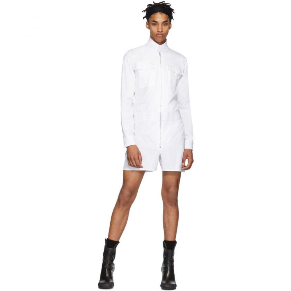 ランダム アイデンティティーズ Random Identities メンズ シャツ トップス【White Romper Shirt】White