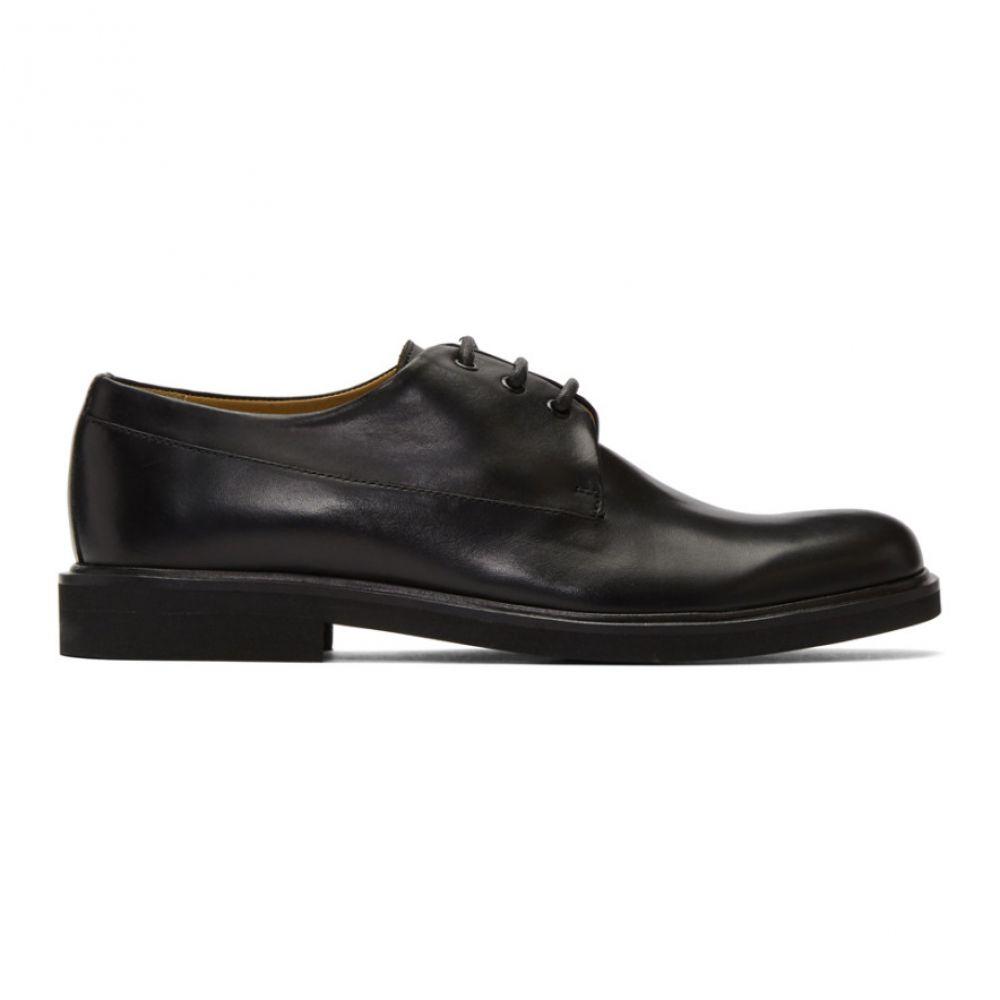アーペーセー A.P.C. メンズ 革靴・ビジネスシューズ シューズ・靴【Black Gustave Derbys】Black