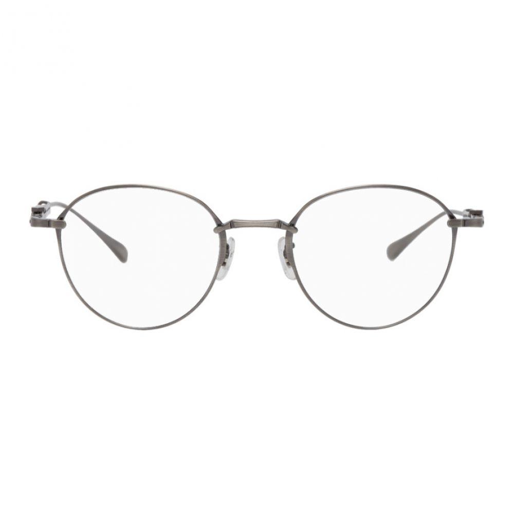ミスター ライト Mr. Leight メンズ メガネ・サングラス 【Silver Mulholland CL Glasses】Pewter greystone