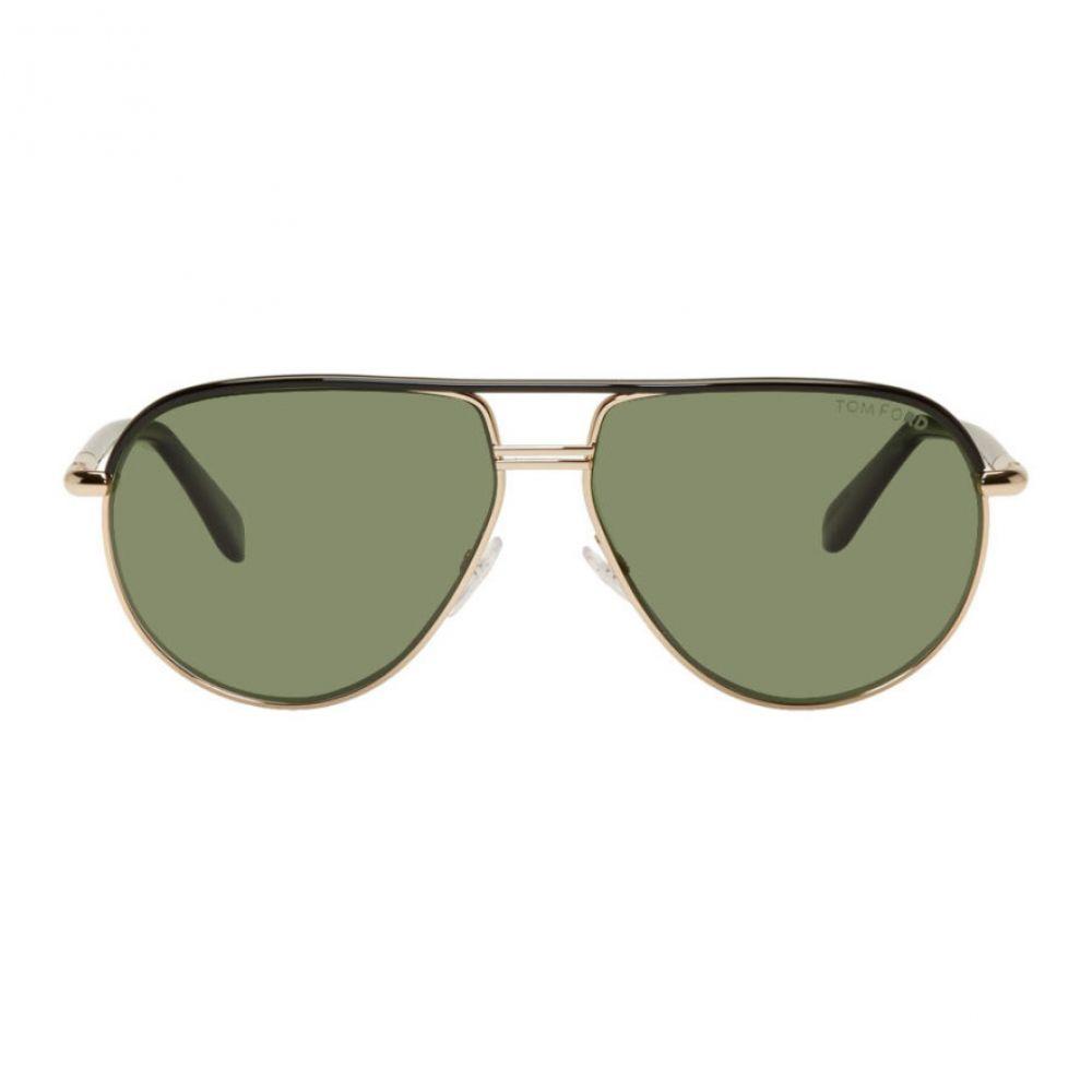 トム フォード Tom Ford メンズ メガネ・サングラス 【Black Square Glasses】Shiny black