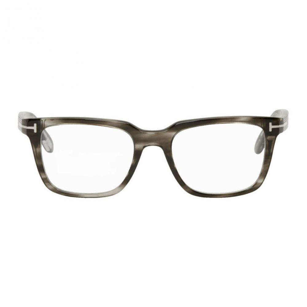 トム フォード Tom Ford メンズ メガネ・サングラス 【Green Square Glasses】Green