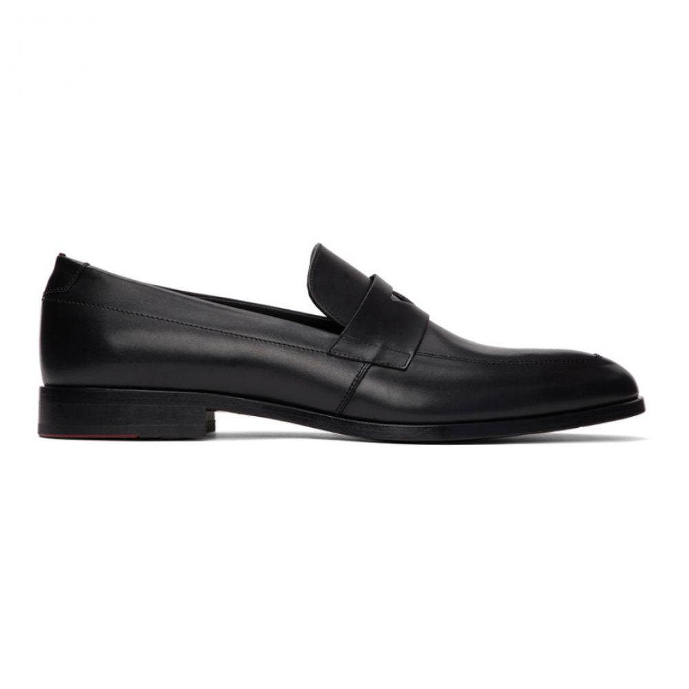 ヒューゴ ボス Hugo メンズ ローファー シューズ・靴【Black Midtown Loafers】Black