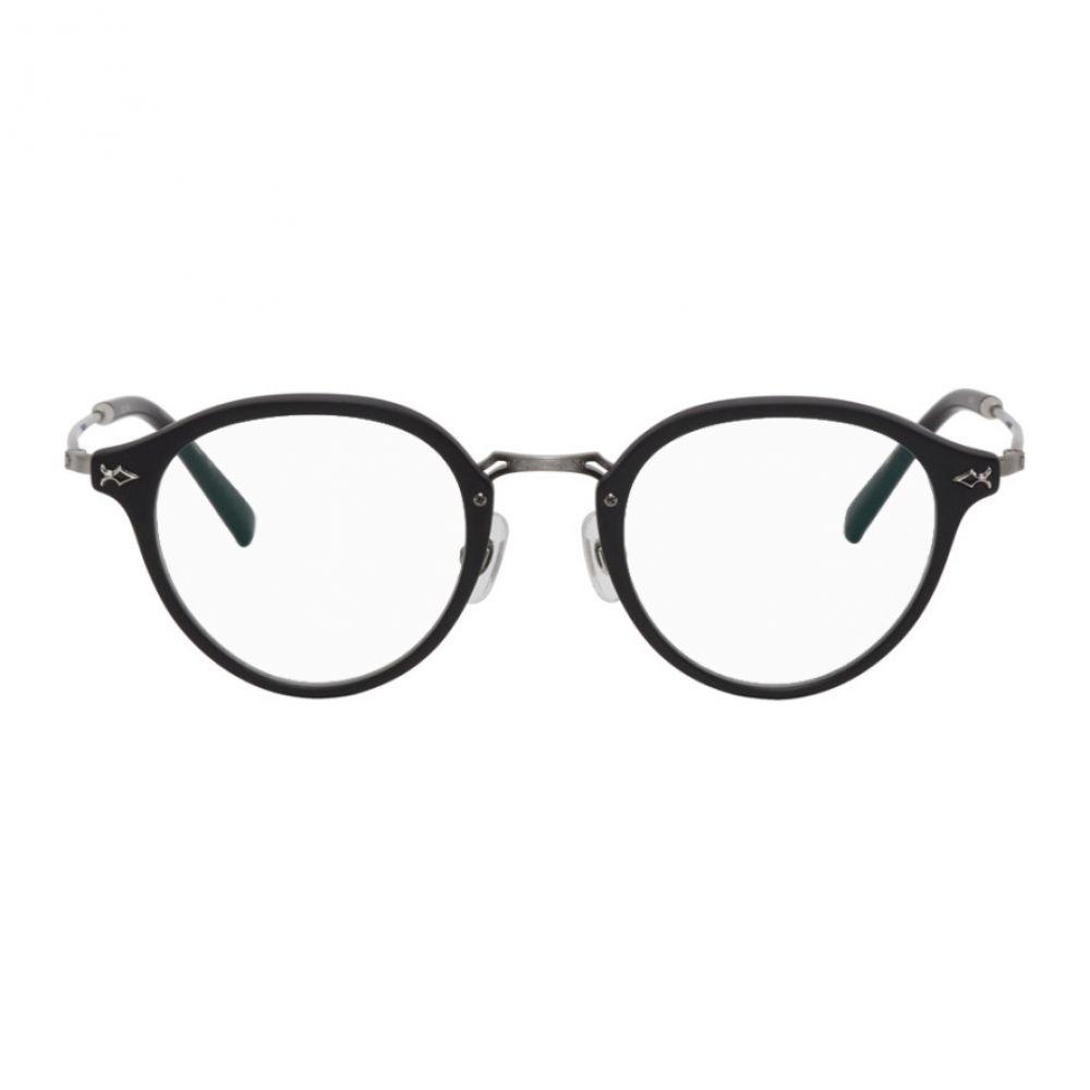 マツダ Matsuda メンズ メガネ・サングラス 【Black Titanium M2029 Glasses】Matte black