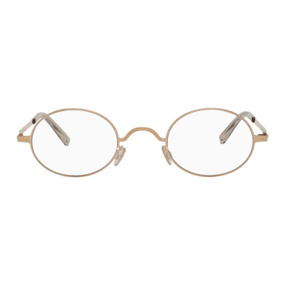 メゾン マルジェラ Maison Margiela お中元 タイムセール メンズ メガネ サングラス Champagne Glasses Mykita gold Edition Gold MMCRAFT005