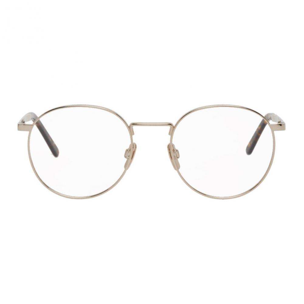 VIU メンズ メガネ・サングラス 【Gold 'The Voyager' Glasses】Gold