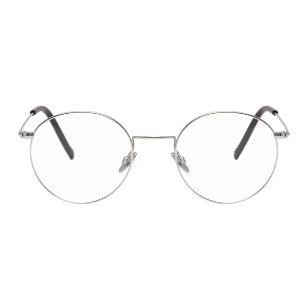 カトラー アンド グロス Cutler And Gross メンズ メガネ・サングラス 【Silver 1316-03 Glasses】Paladium/Black