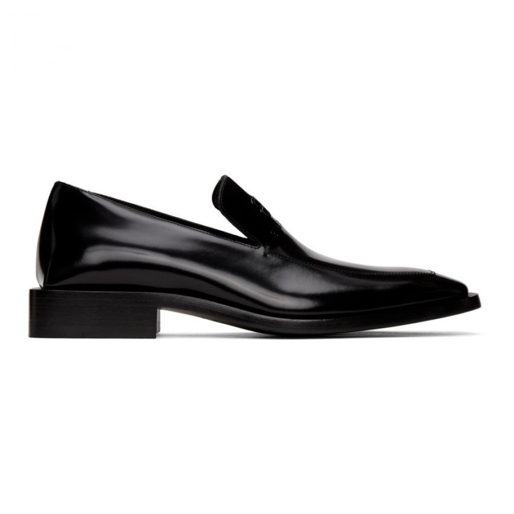 バレンシアガ Balenciaga メンズ ローファー シューズ・靴【Black Coin Rim Loafers】Black