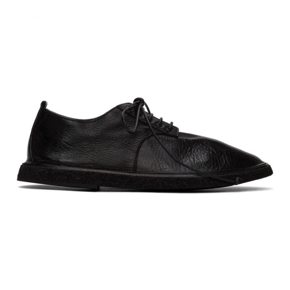 マルセル Marsell メンズ 革靴・ビジネスシューズ シューズ・靴【Black Mitracco Derbys】Black