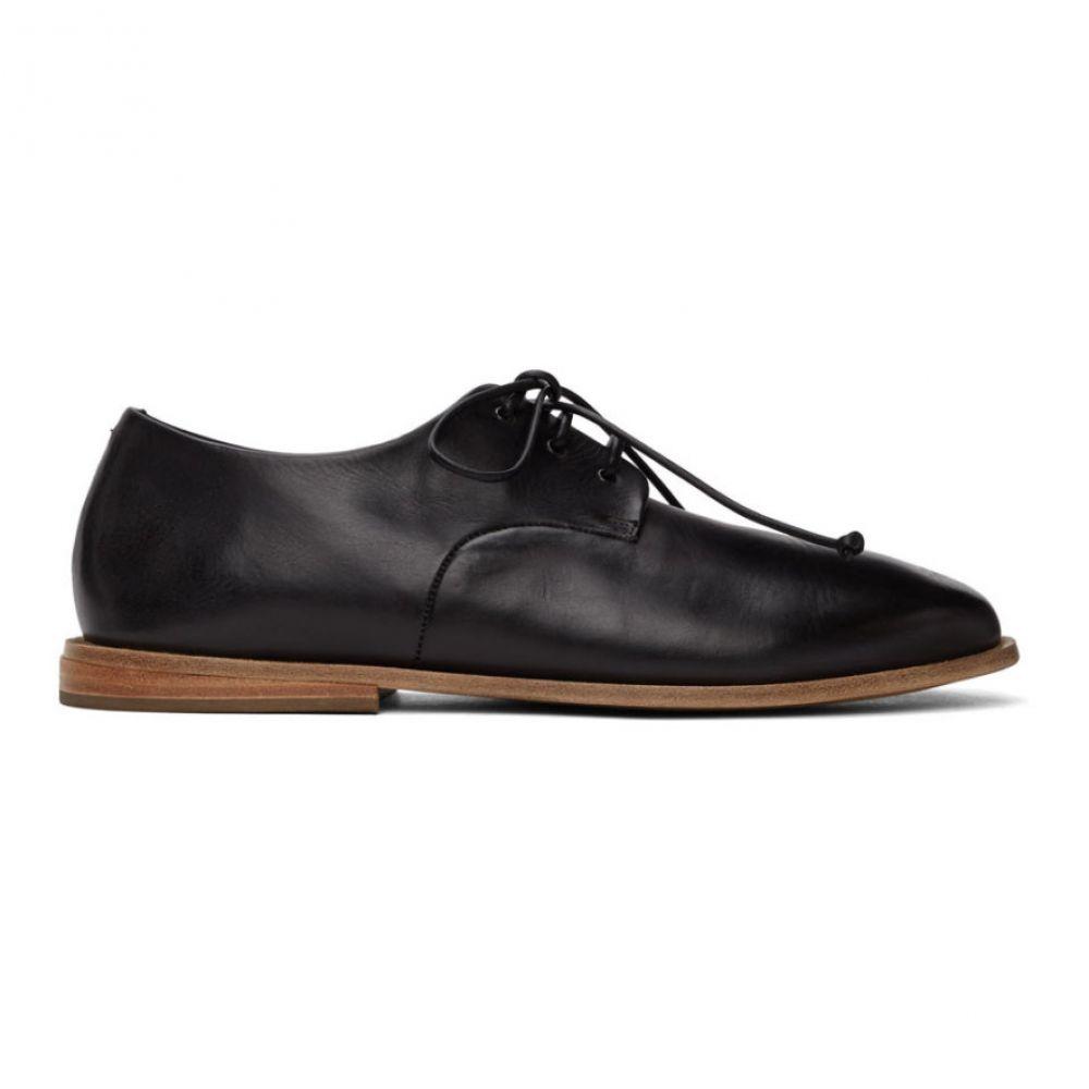マルセル Marsell メンズ 革靴・ビジネスシューズ シューズ・靴【Black Goodpiatto Derbys】Black