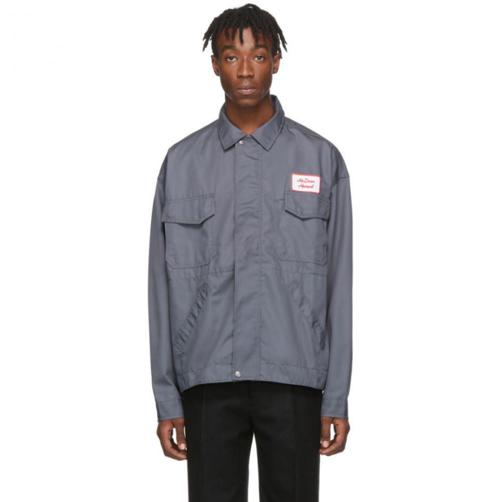 バレード Byredo メンズ シャツ トップス【Grey Craig McDean Edition Mechanic Shirt】Grey