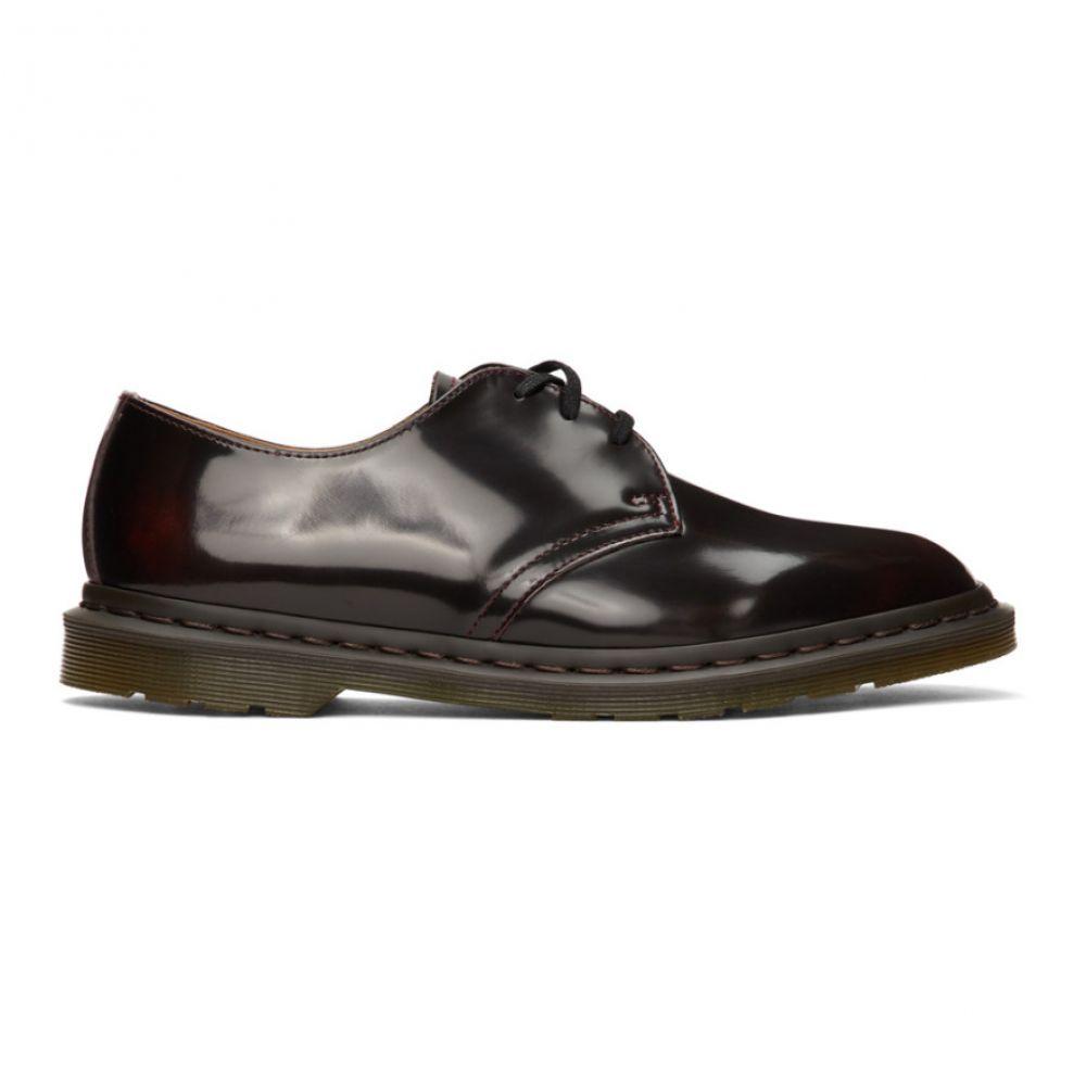 ドクターマーチン Dr. Martens メンズ 革靴・ビジネスシューズ シューズ・靴【Burgundy Archie II Derbys】Cherry red