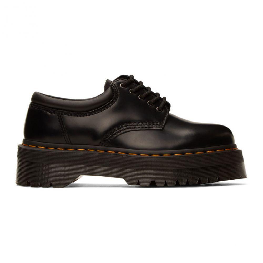 ドクターマーチン Dr. Martens メンズ 革靴・ビジネスシューズ シューズ・靴【Black 8053 Quad Derbys】Black