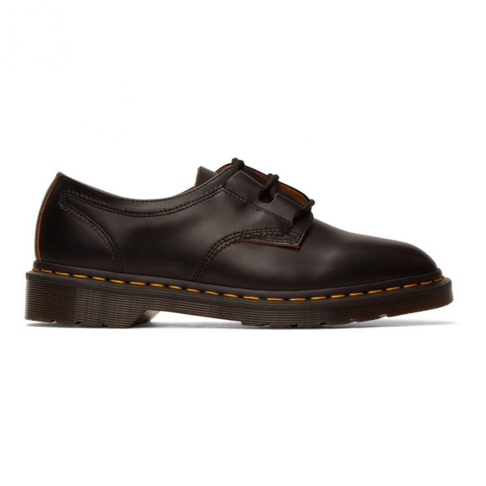 ドクターマーチン Dr. Martens メンズ 革靴・ビジネスシューズ シューズ・靴【Black 1461 Ghillie Derbys】Black