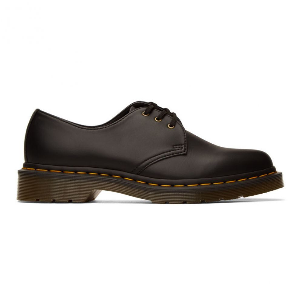 ドクターマーチン Dr. Martens メンズ 革靴・ビジネスシューズ シューズ・靴【Black Vegan 1461 Derbys】Black