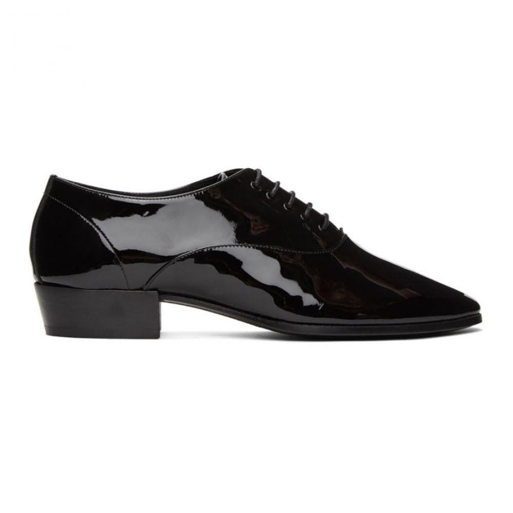 イヴ サンローラン Saint Laurent メンズ 革靴・ビジネスシューズ シューズ・靴【Black Patent Marius Oxfords】Black