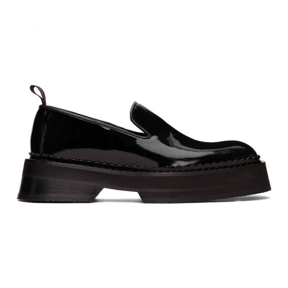 エイティーズ Eytys メンズ ローファー シューズ・靴【Black Patent Baccarat Loafers】Black